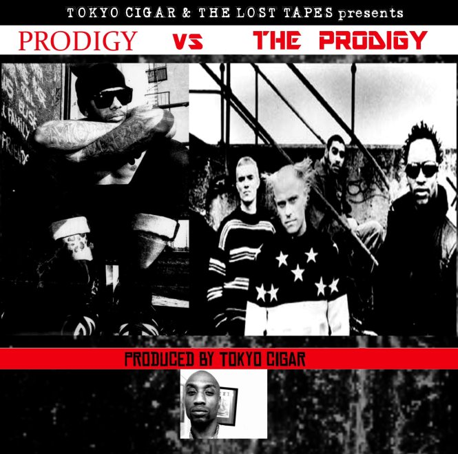 PRODIGY vs THE PRODIGY front cover